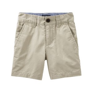 Kid Boy Flat-Front Shorts | OshKosh.com
