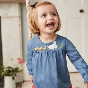 Up to 40% Off + Free ShippingNew Arrivals Kids Apparel @ Mini Boden
