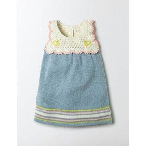 Crochet Knit Dress 73247 Knitwear at Boden