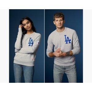 Levi's® MLB Crewneck Sweatshirt | Los Angeles Dodgers |Levi's® United States (US)