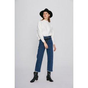 Strap Waist Jeans PA0326