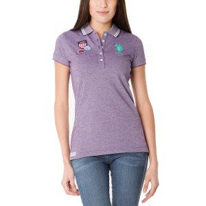 Birdseye Design Polo Shirt - U.S. Polo Assn.