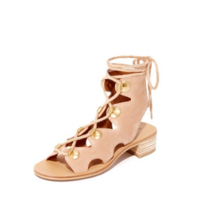 See by Chloe Bill Lace Up Sandals | 15% off first app purchase with code: 15FORYOU