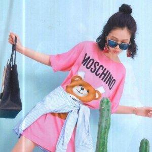 低至6折 收明星最爱小熊衫Moschino 美包美衣