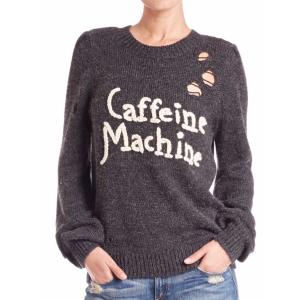 Wildfox - Caffeine Machine Sweater - saksoff5th.com