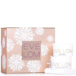 £75 ( 价值£110 )EVE LOM 圣诞限量 卸妆膏+急救面膜套装