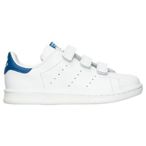 Boys' Preschool adidas Originals Stan Smith Hook-and-Loop Closure Casual Shoes| Finish Line