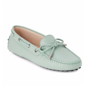 Tod's - Leather Boat Shoes - saksoff5th.com