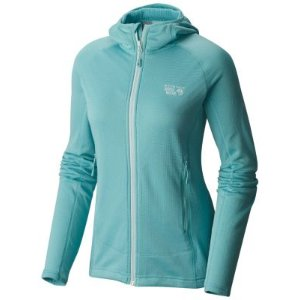Women's Desna™ Grid Hooded Jacket | MountainHardwear.com