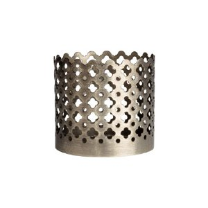 Small Metal Tealight Holder | Silver-colored | H&m home | H&M US
