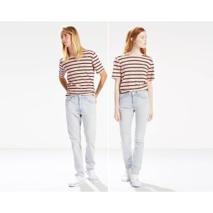 Line 8 Unisex/For Everyone Stretch Jeans | Barely There Blue |Levi's® United States (US)