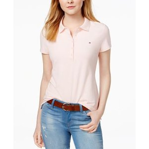 Tommy Hilfiger Core Polo Shirt, Only at Macy's - Tops - Women - Macy's