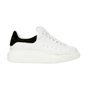 ALEXANDER MCQUEEN - 40MM LEATHER & SUEDE SNEAKERS - SNEAKERS - WHITE/BLACK