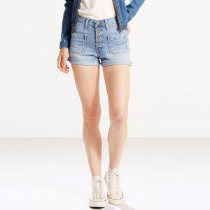 Orange Tab Shorts | Kerouac Effect |Levi's® United States (US)