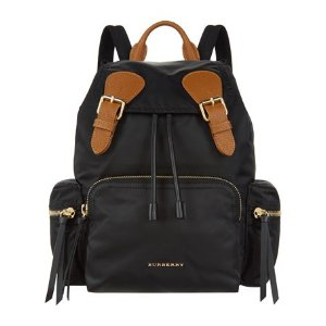 Burberry Medium Logo Backpack | Harrods.com