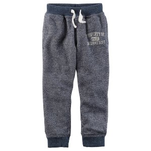 Marled French Terry Joggers