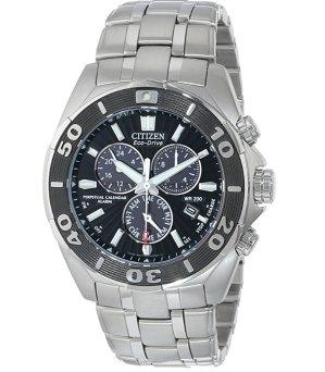 Citizen Men's BL5440-58E The Signature Collection Eco-Drive Perpetual Calendar Chronograph Watch