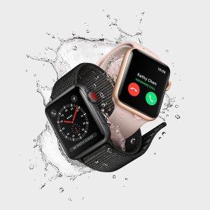 $329起黒五价:Apple Watch 3代 智能手表