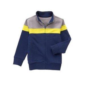 Colorblock Zip Jacket at Crazy 8