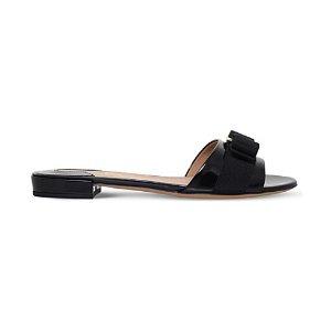 SALVATORE FERRAGAMO - Gil patent-leather sandals | Selfridges.com