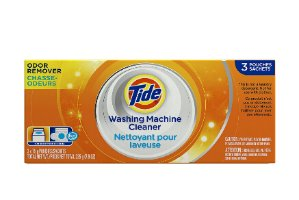 Tide汰渍洗衣机自清洁粉3小包