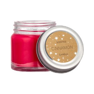 Scented Candle in Glass Jar | Red/cinnamon | H&m home | H&M US