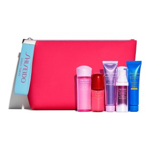 Free 6pc. Skincare Gift ($69-$98 Value)With Any $75 Shiseido Purchase @ Macys