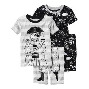 Baby Boy 4-Piece Snug Fit Cotton PJs | Carters.com