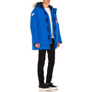 Canada Goose PBI Expedition Poly-Blend Parka in Blue
