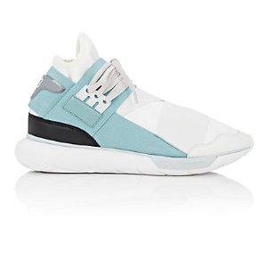Y-3 Qasa High Neoprene & Leather Sneakers | Barneys New York