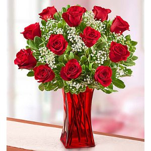 Blooming Love™ Premium Red Roses | 1800Flowers.com - 95285