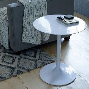 Modernist Pedestal Side Table | west elm