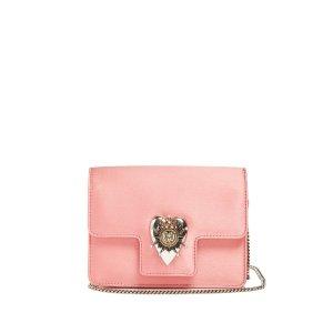 Heart mini satin shoulder bag | Alexander McQueen