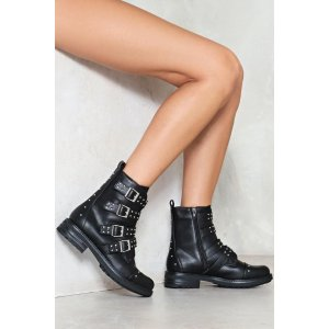Leader of the Pack Studded Boot | Shop Clothes at Nasty Gal!
