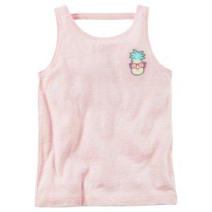 Toddler Girl Pineapple Patch Tank | Carters.com