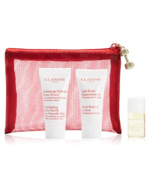 Clarins GWP! FREE 4 Piece Body Giftwith any Clarins Body Fit Purchase @ macys.com