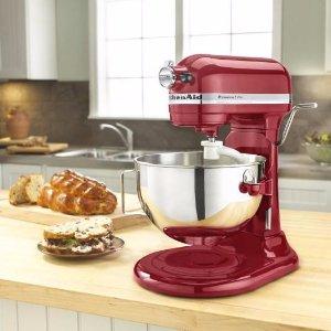 KitchenAid Tilt-Head Stand Mixer Empire Red