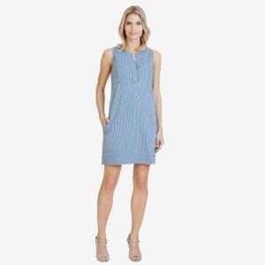 Striped Denim Dress - Yacht Club Blue | Nautica