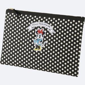 WOMEN Disney (MINNIE MOUSE LOVES DOTS) CLUTCH BAG