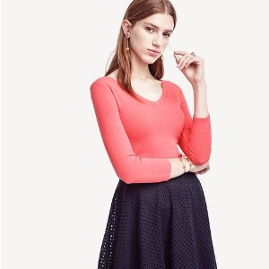 Extra 50% Off + Free ShippingEverything @ Ann Taylor