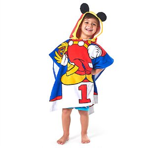 Mickey Mouse Hooded Towel for Kids - Personalizable | Disney Store