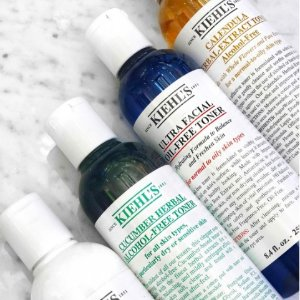 Last Day! 15% Off + a Limited Edition packetteWith Toners Purchase @ Kiehl's