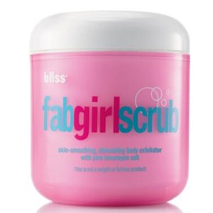 bliss fabgirlscrub stimulating body exfoliator| bliss Products