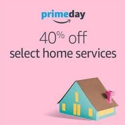 40% offAmazon Prime Day Home Services sale