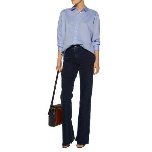 Atlantic cotton-poplin shirt | J Brand | US | THE OUTNET