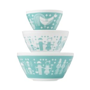Vintage Charm™ Rise N' Shine 3-pc Mixing Bowl Set
