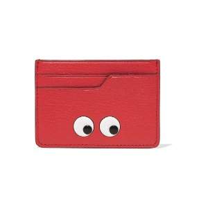 Anya Hindmarch | Eyes embossed textured-leather cardholder | NET-A-PORTER.COM
