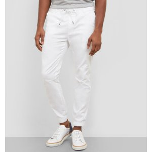 DRAWSTRING TWILL JOGGER PANT | Kenneth Cole