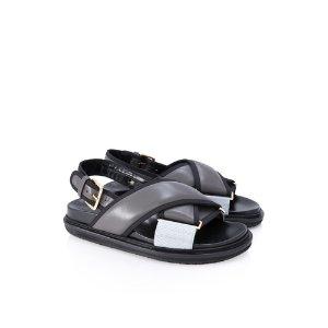 Marni Crisscross Fussbett Sandals