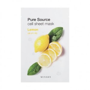 MISSHA Pure Source Cell Sheet Mask (Lemon) | The Official Missha